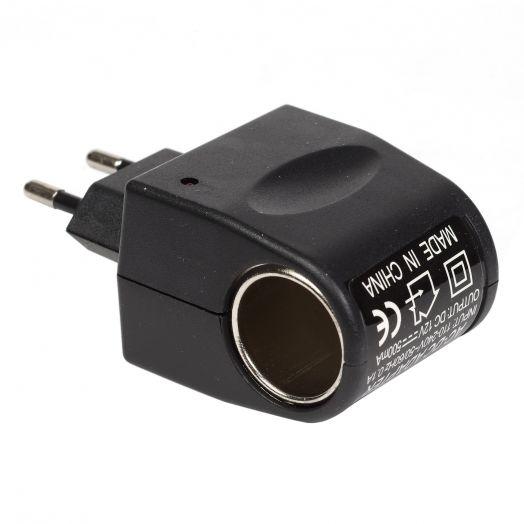 Вилка Переходник 220 на 12 вольт авто прикуриватель AF-080
