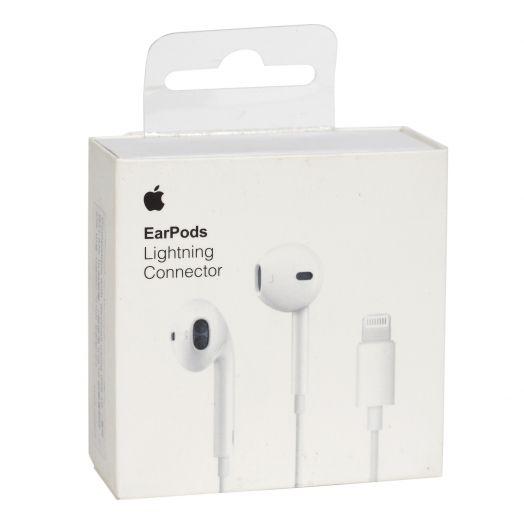Наушники вакуумные - гарнитура EarPods Lightning Connector (Айфон 7)