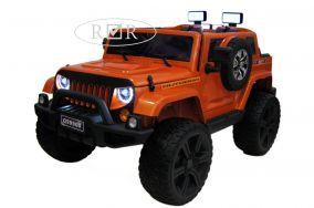 Электромобиль River Toys Jeep Wrangler 4WD ( видео в описании )