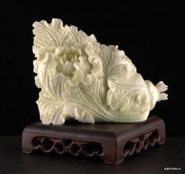Камень капуста, нефрит, Китай