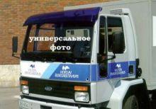 Козырек на лобовое стекло, Vepro, синий