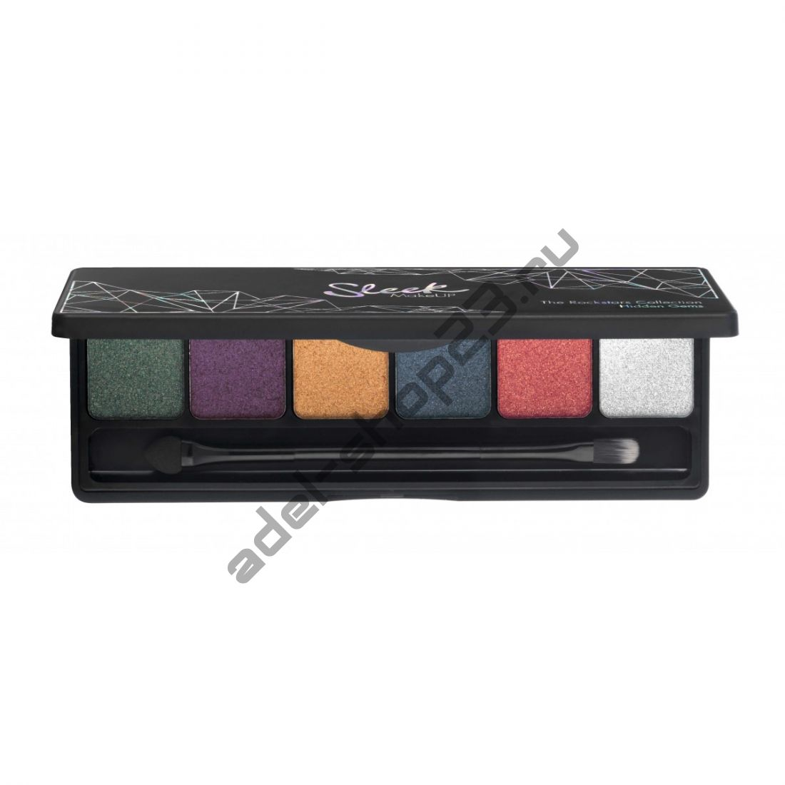 Sleek MakeUp - Тени для век I-Lust 6 цв Hidden Gems 048