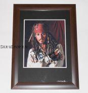 Автограф: Джонни Депп. Пираты Карибского моря: Проклятие Черной жемчужины