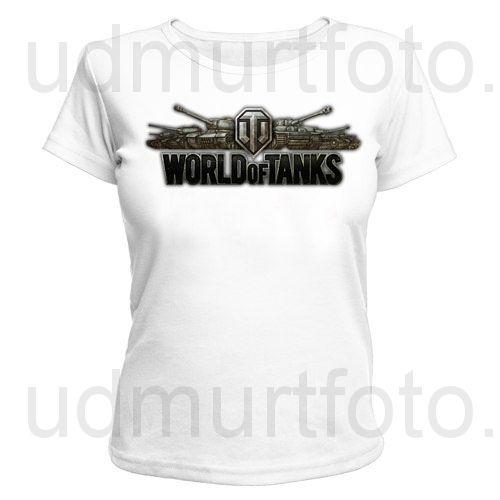 Футболка женская World of Tanks