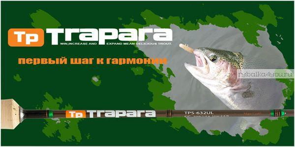Спиннинг  Major Craft Trapara TPS-762MX 2.29м / тест  5-18гр