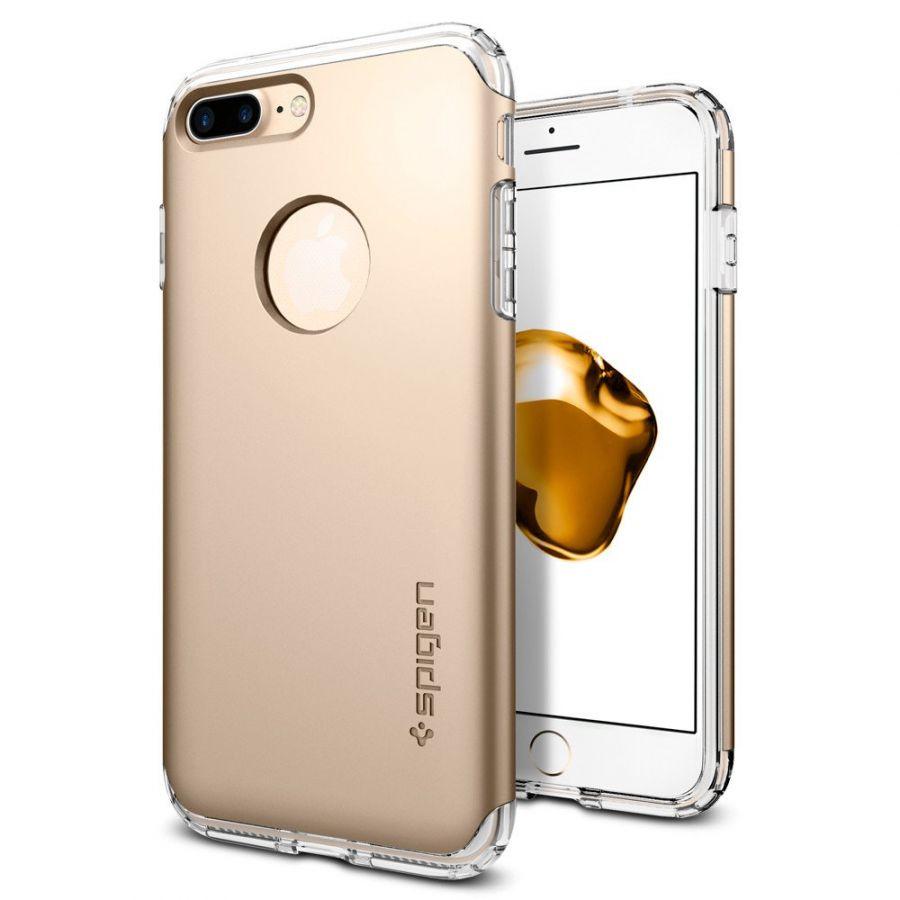 Чехол Spigen Hybrid Armor для iPhone 7 Plus золотой
