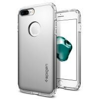Чехол Spigen Hybrid Armor для iPhone 8/7 Plus (5.5) серебристый