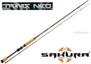 """Спиннинг Sakura  Trinis Neo Spin TNS 6.3"""" X 2- M (190 см 5-21 гр)"""