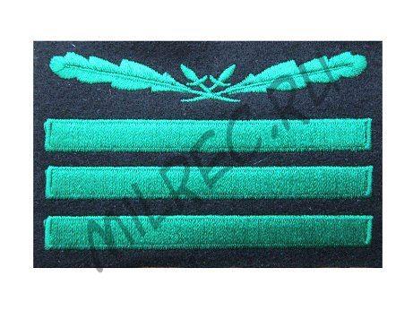 Нашивка на камуфляжную форму Вермахта, гауптман (реплика)