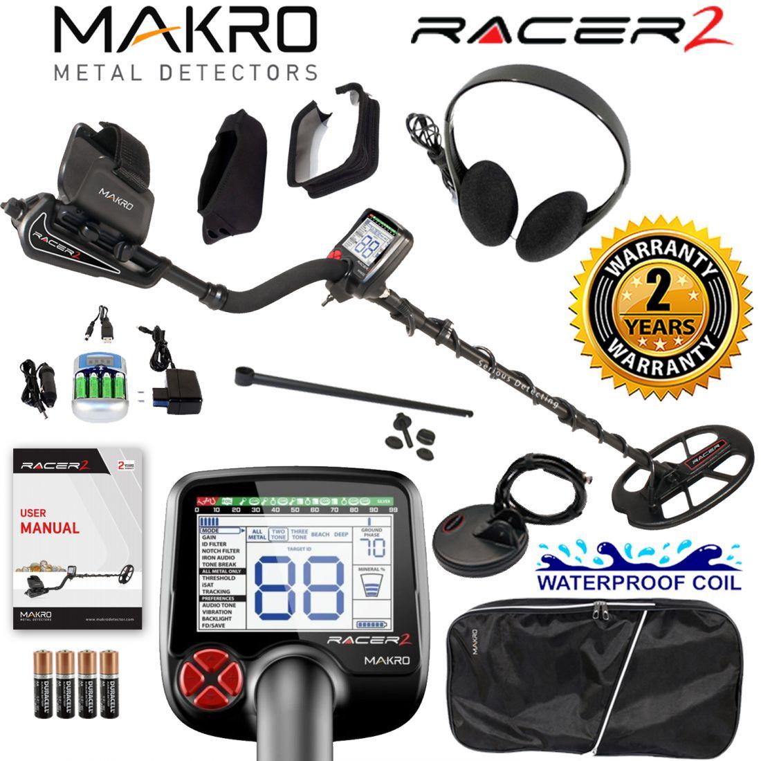 Металлоискатель Makro Racer 2 PRO