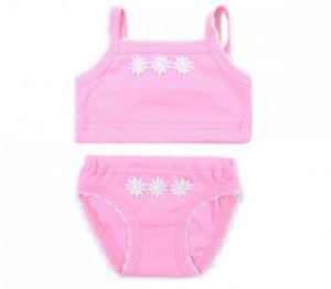 розовое детское нижнее белье