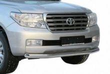 Защита переднего бампера, Toyota, нерж. сталь ф 76мм