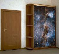 Наклейка на шкаф - Глубокий космос купить в магазине Интерьерные наклейки