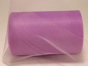 Фатин, средняя жесткость, ширина 15 см, бобина 100 ярдов, цвет: C24 сиреневый