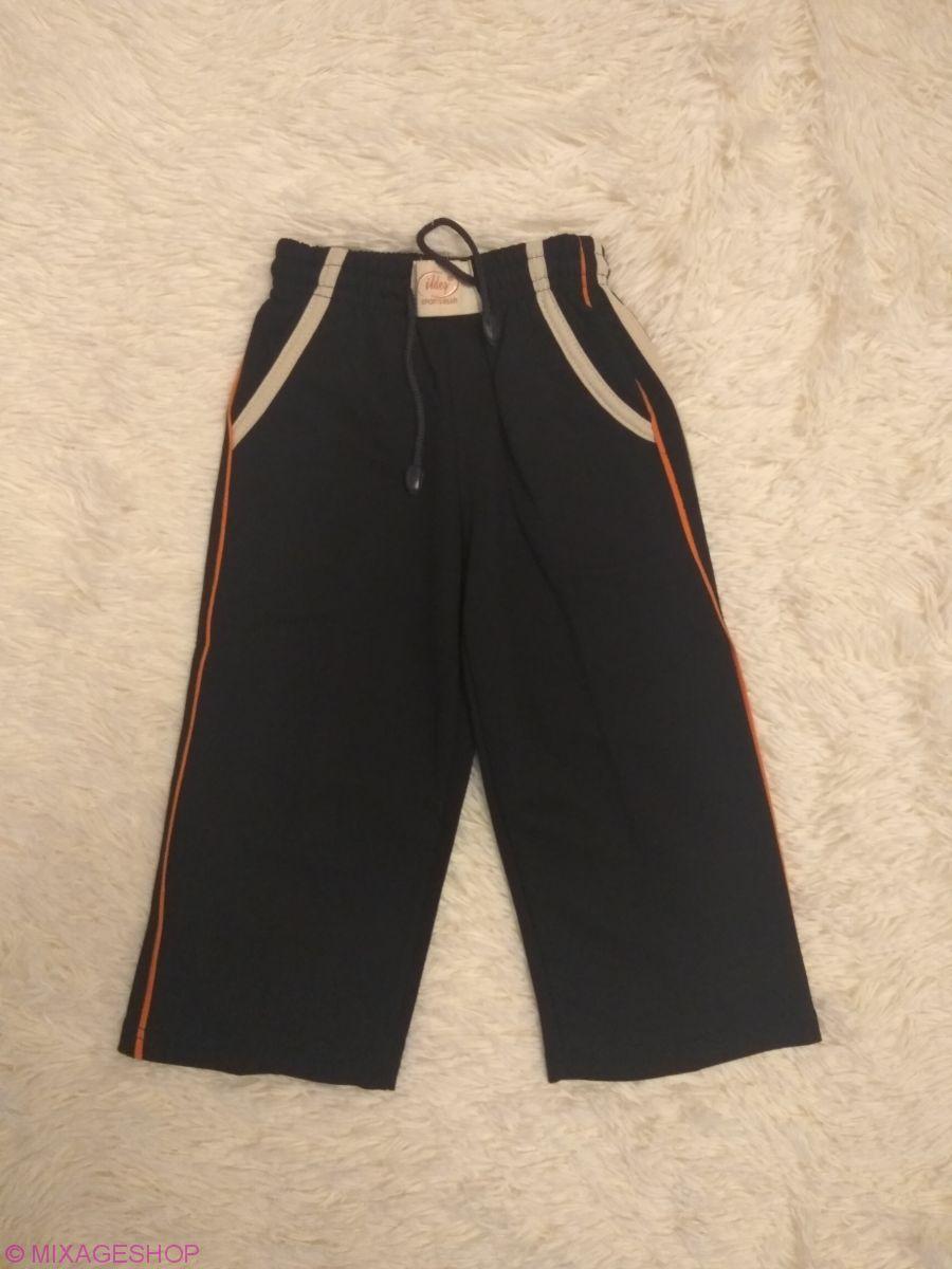 Трикотажные брюки с карманами