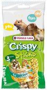 Versele-Laga Crispy Sticks Mix Палочки для всеядных грызунов (рис/овощи, экз. фрукты, попкорн/мед) (3 шт.)