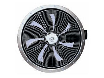 Осевой настенный вентилятор korf FE035-4DQ.0C.A7