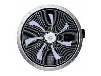 Осевой настенный вентилятор korf FE050-4EQ.4I.A7