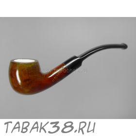 Трубка курительная Пайпмастер №307 с охладителем и пенковой вставкой
