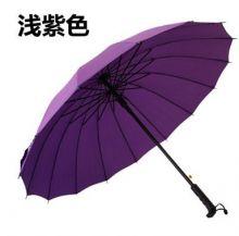Стильный зонт трость 16 спиц Фиолетовый