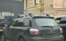 Багажник на крышу с рейлингами, Atlant, аэродинамические дуги