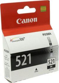 Картридж CANON CLI-521bk черный, оригинальный 1250 стр.