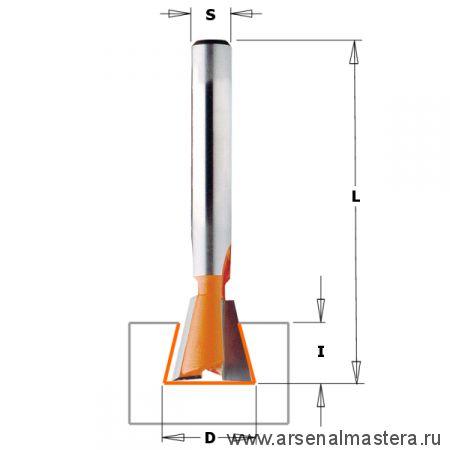 CMT 718.190.11 Фреза ласточкин хвост 7 гр. S6 D19x22