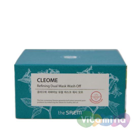 The Saem Маска для лица с экстрактом клеомы двухкомпонентная, 50 мл