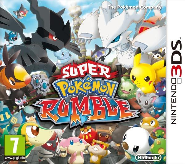 Игра Super Pokemon Rumble (Nintendo 3DS)