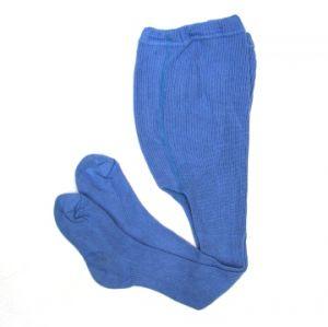 Колготки из хлопка детские синие