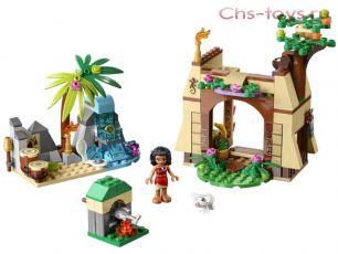 Конструктор Lari Ocean Enchanted Приключения Моаны на затерянном острове 10662 (41149) 206 дет