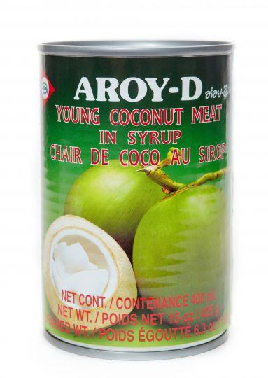 Мякоть молодого кокоса в сиропе