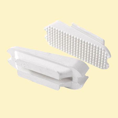 Резинки для стремян скошенные (бок). 12 см. Белые