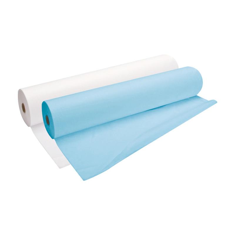 Простыня одноразовая White line 70*200 SMS 17 голубой №100 рол