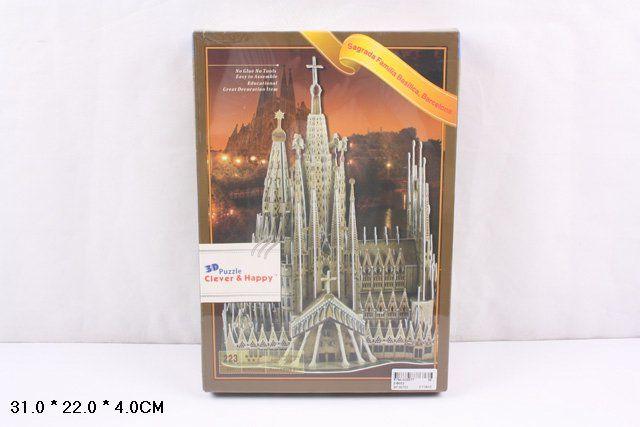 ZB052 Храм Святого Сердца в Барселоне 223 детали