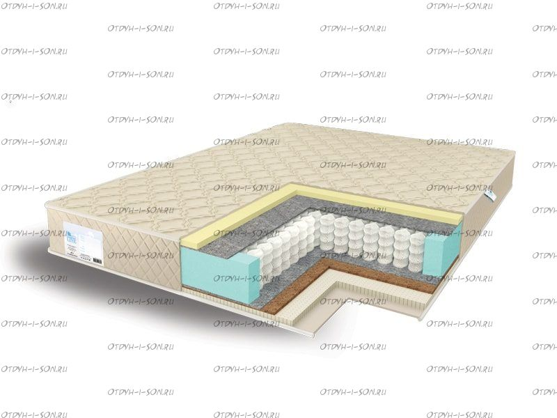 Матрас Medium Memory2 - Medium Latex2 TFK Comfort Line