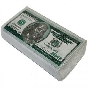 Салфетки денежные -100$