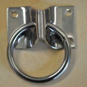 Настенное крепление для развязок, с кольцом. ПАРА.