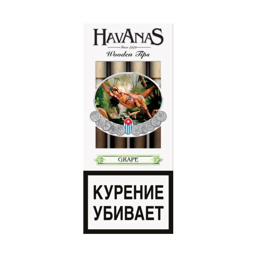 Сигариллы Havanas Grape  4 шт.