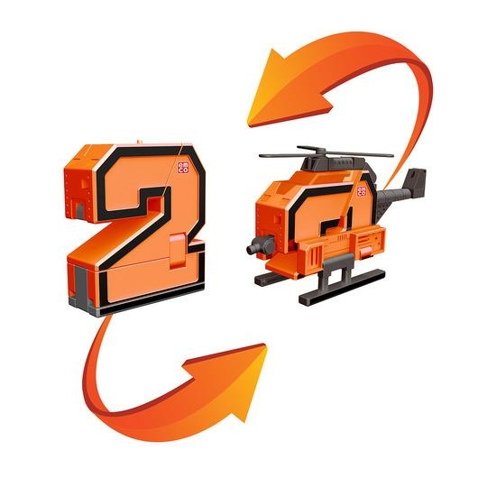 2 Трансбот вертолет или цифра два