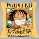 "Подушка ""Wanted Monkey D Luffy"""