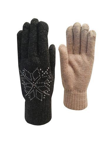 Перчатки женские (начес)-89руб