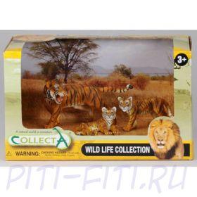 "GULLIVER Collecta. Набор ""Тигры"" в открытой коробке"