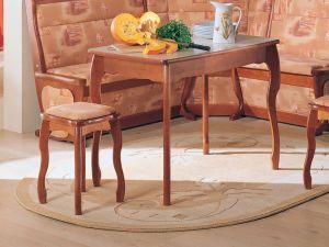 Стол обеденный с фигурной ножкой