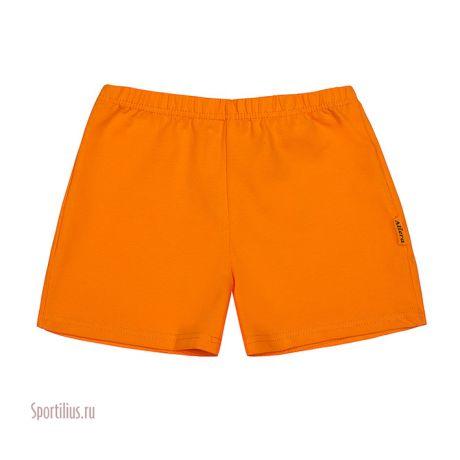 Оранжевые шорты для девочки