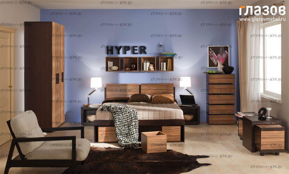 Спальня Hyper композиция-1