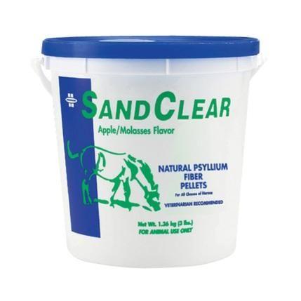 Farnam Sand Clear. Подкормка с семенами подорожника для нормализации пищеварения. 1,3 кг.