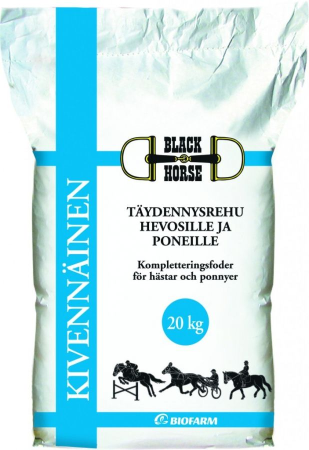 "Минеральная подкормка для лошадей ""Black Horse"" Kivennainen. 20 кг."