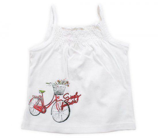 Майка для девочки Велосипед