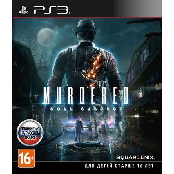 Игра Murdered Soul Suspect (PS3, русская версия)